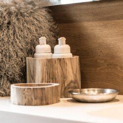 Alpenstore Gefäss aus Holz für Spülmittel oder Löffel
