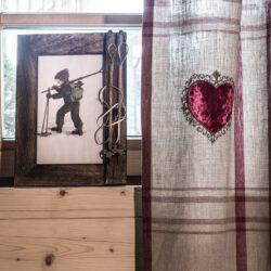 Bilderrahmen aus Holz für alle Ski Erinnerungen