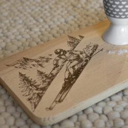 Brett Erle Skifahrer