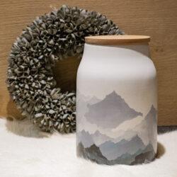 Küchendose Aufbewahtungsdose aus Keramik