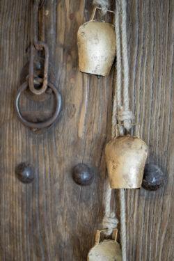 Kuh Glocken Kette Detail